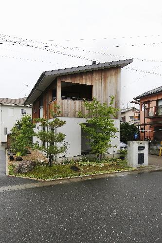 インナーテラスのある家 松川洋輔建築設計事務所