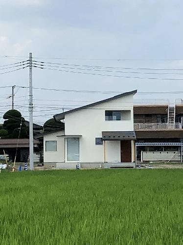 田んぼに建つ家 松川洋輔建築設計事務所